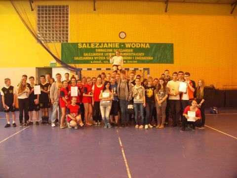 Uczestnicy przed Turniejem